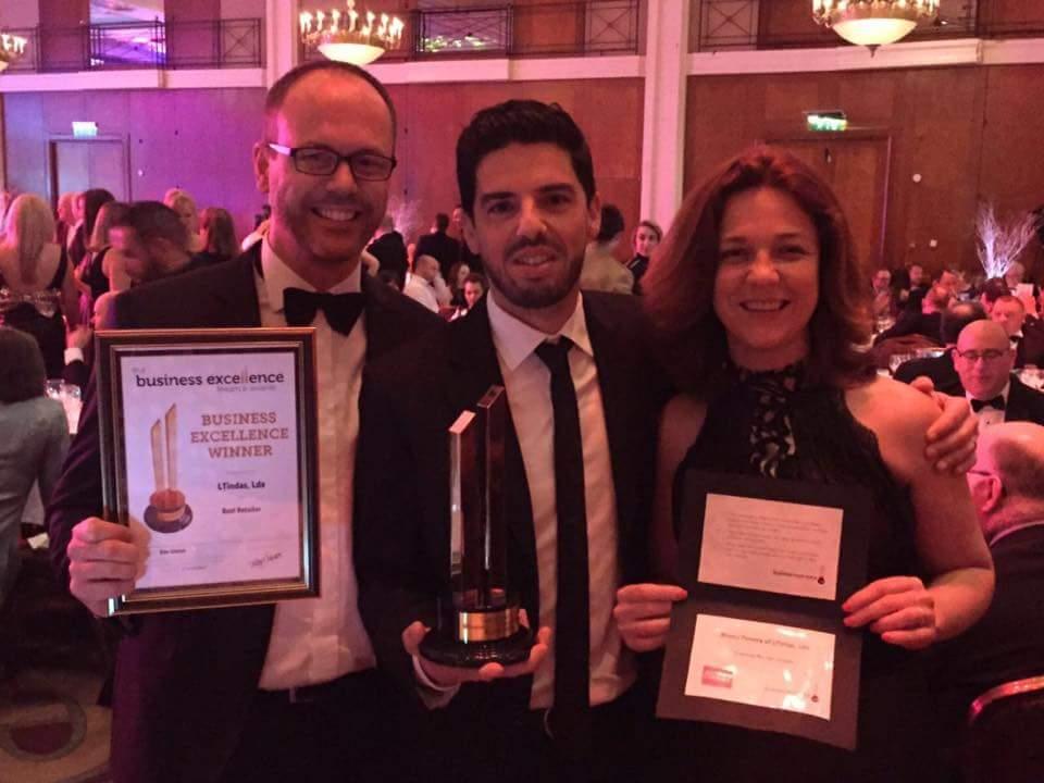 LTintas vence o prémio do Best Retailer BEFA 2016 EMEA