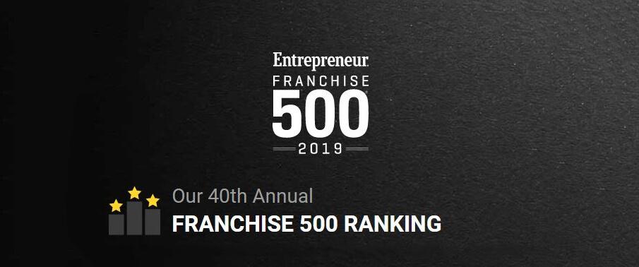 TOP 500 Melhores Franquias da Revista Entrepreneur